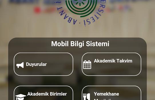 İzzet Baysal Üniversitesi Ekran Görüntüleri - 3