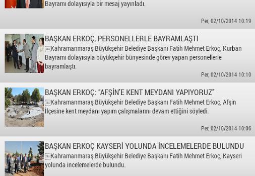 K.Maraş Büyükşehir Belediyesi Ekran Görüntüleri - 4