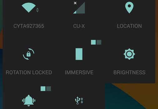 L-Ready Dark CM11 Theme Ekran Görüntüleri - 3