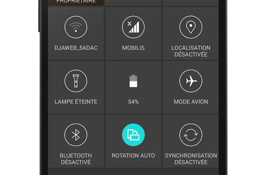 LG G3 CM11 Theme Ekran Görüntüleri - 3