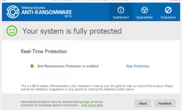 Malwarebytes Anti-Ransomware Beta Ekran Görüntüleri - 2
