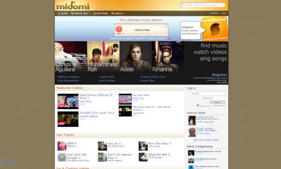 Midomi.com Ekran Görüntüleri - 2