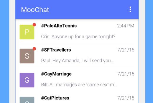 MooChat Ekran Görüntüleri - 1