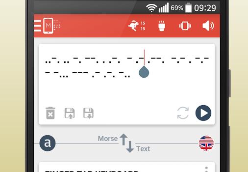 Morse Code Translator Ekran Görüntüleri - 2