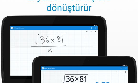 MyScript Calculator Ekran Görüntüleri - 9