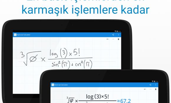 MyScript Calculator Ekran Görüntüleri - 8