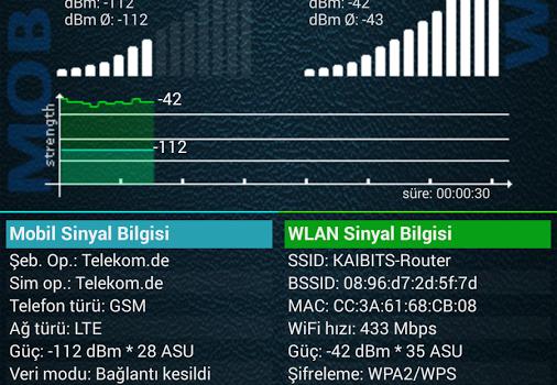 Network Signal Info Ekran Görüntüleri - 6