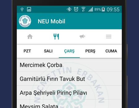 NEU Mobil Ekran Görüntüleri - 3