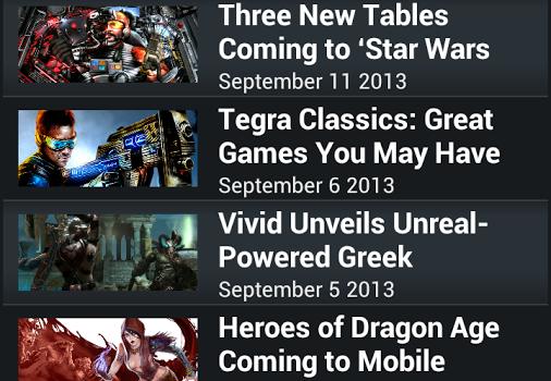 NVIDIA TegraZone 2 Ekran Görüntüleri - 2