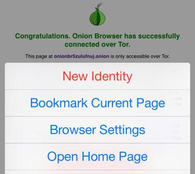 Onion Browser Ekran Görüntüleri - 2