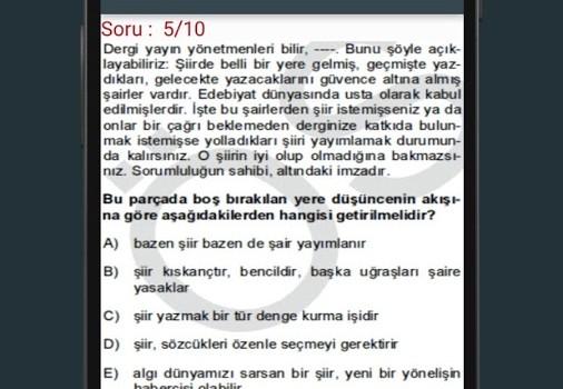 Paragraf Soruları Ekran Görüntüleri - 3
