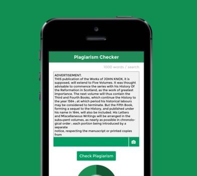 Plagiarism Checker Ekran Görüntüleri - 1