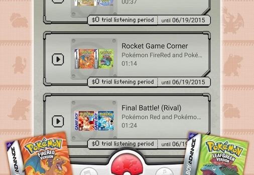 Pokemon Jukebox Ekran Görüntüleri - 2