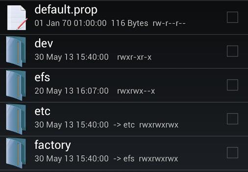 Root Explorer Ekran Görüntüleri - 5
