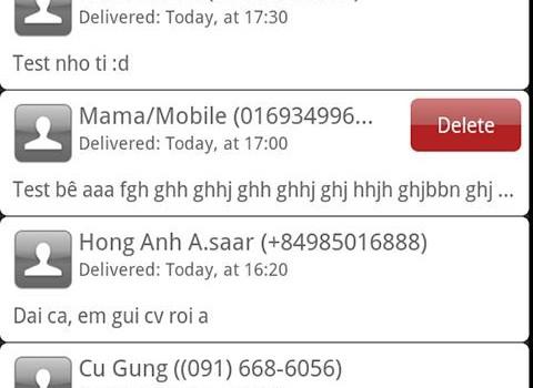 Schedule SMS Ekran Görüntüleri - 1