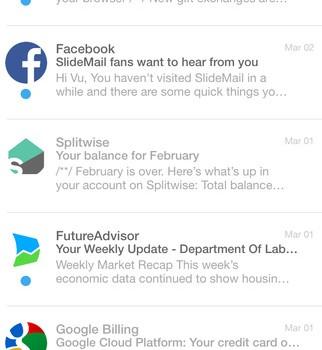 SlideMail Ekran Görüntüleri - 2