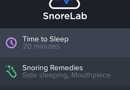 SnoreLab Ekran Görüntüleri - 3