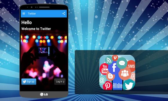 Social Apps All in One Ekran Görüntüleri - 1