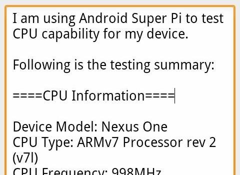 Super PI Ekran Görüntüleri - 1