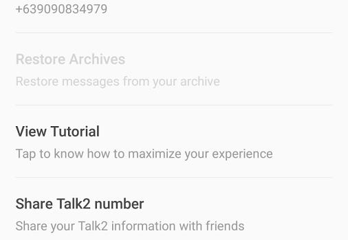Talk2 Ekran Görüntüleri - 3