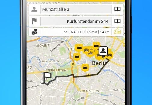 taxi.eu Ekran Görüntüleri - 1