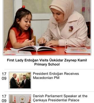 T.C. Cumhurbaşkanlığı Ekran Görüntüleri - 1