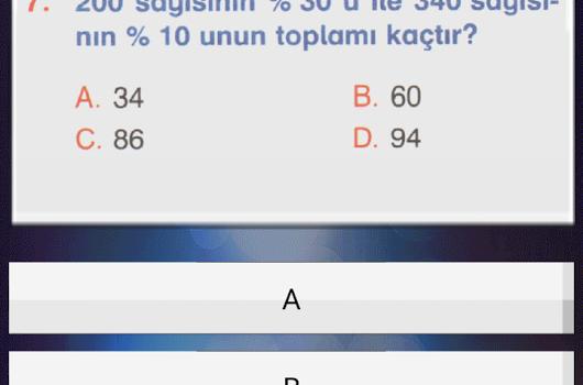 Test Çöz Ekran Görüntüleri - 3