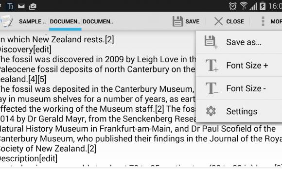 Text Editor Ekran Görüntüleri - 2