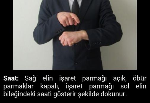 Türk İşaret Dili Sözlüğü Ekran Görüntüleri - 3