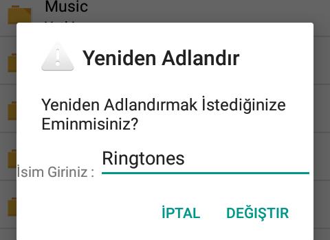 Türk Root Dosya Yöneticisi Ekran Görüntüleri - 2