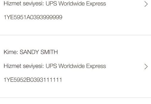 UPS Mobile Ekran Görüntüleri - 4