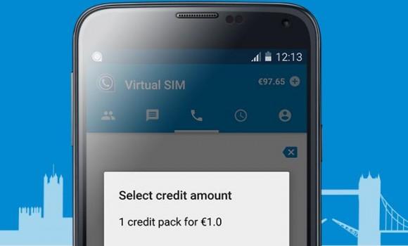 Virtual SIM Ekran Görüntüleri - 1