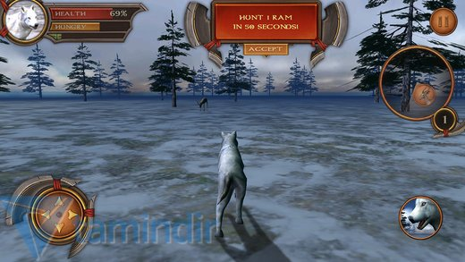 White Wolf Simulator Ekran Görüntüleri - 3