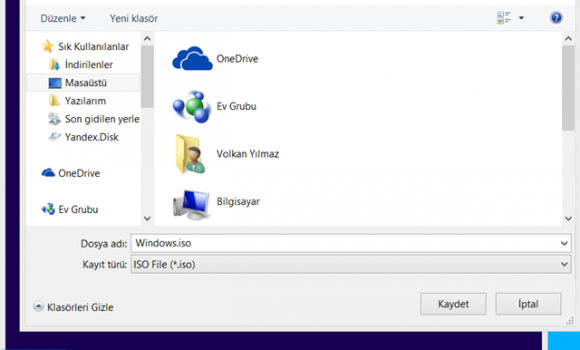 Windows 8.1 Yükleme Medyası Oluşturma Aracı Ekran Görüntüleri - 2