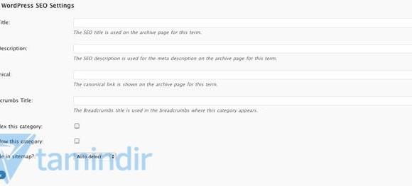 WordPress SEO by Yoast Ekran Görüntüleri - 2