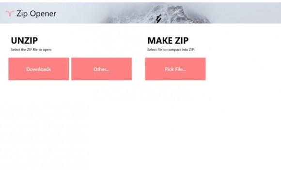 Zip Opener Ekran Görüntüleri - 1