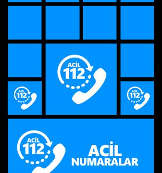 Acil Durum Numaraları Ekran Görüntüleri - 1