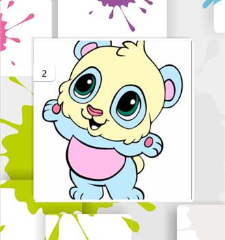 Animals Paint Ekran Görüntüleri - 6