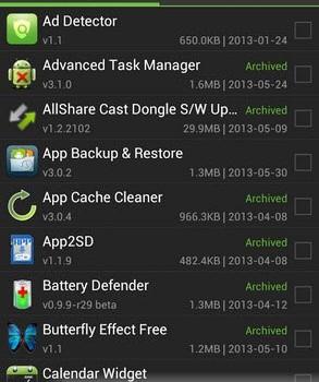 App Backup & Restore Ekran Görüntüleri - 4