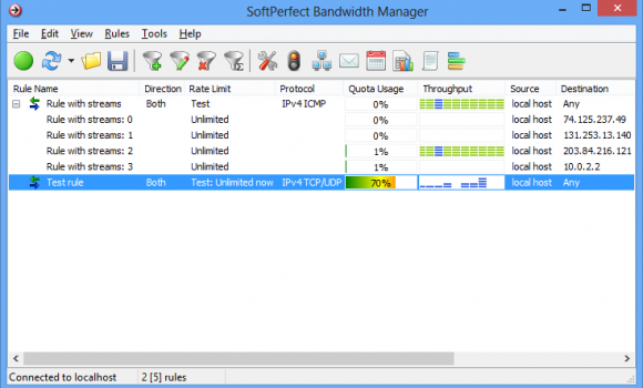 Bandwidth Manager Ekran Görüntüleri - 6