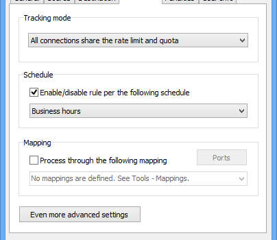 Bandwidth Manager Ekran Görüntüleri - 5