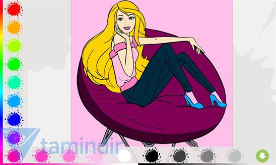 Barbie Paint Ekran Görüntüleri - 2