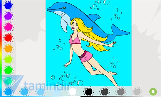 Barbie Paint Ekran Görüntüleri - 1
