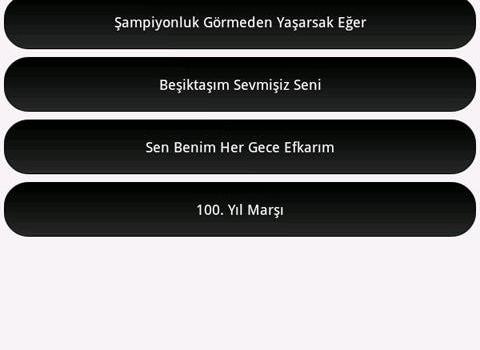 Beşiktaş Marşları Ekran Görüntüleri - 2