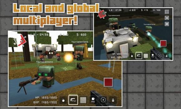 Block Fortress Ekran Görüntüleri - 3