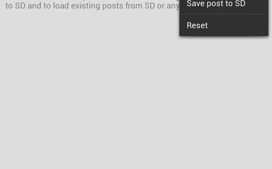 Bloggeroid for Blogger Ekran Görüntüleri - 1