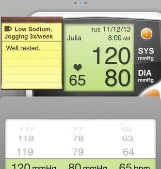 Blood Pressure Ekran Görüntüleri - 3