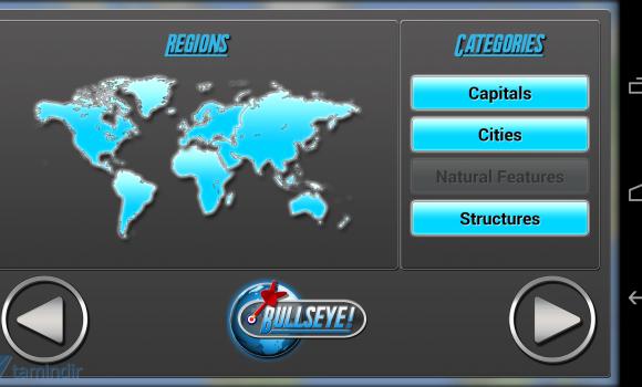 Bullseye! Geography Challenge Ekran Görüntüleri - 6