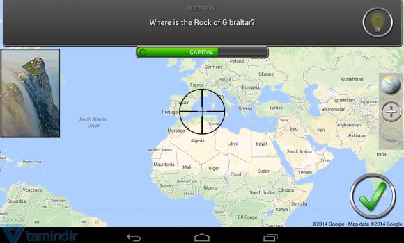 Bullseye! Geography Challenge Ekran Görüntüleri - 3