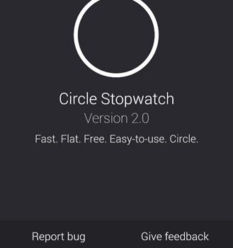 Circle Stopwatch Ekran Görüntüleri - 1